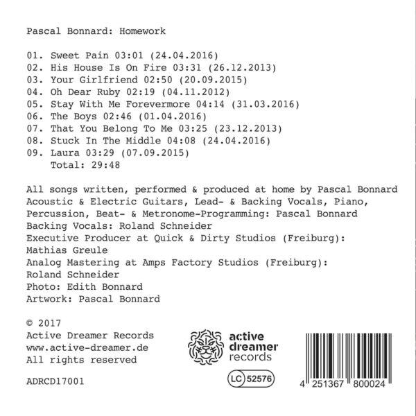 Pascal Bonnard - Homework